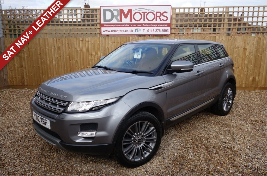 USED 2012 12 LAND ROVER RANGE ROVER EVOQUE 2.2 SD4 PRESTIGE 5d 190 BHP *** 6 MONTHS NATIONWIDE GOLD WARRANTY ***