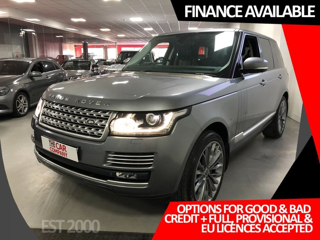 USED 2013 62 LAND ROVER RANGE ROVER 4.4 SDV8 AUTOBIOGRAPHY 5d 339 BHP * MASSIVE SPECIFICATION * NAVIGATION *22 INCH ALLOYS * MOT OCT 2021 * 2 KEYS * PRIVACY GLASS *