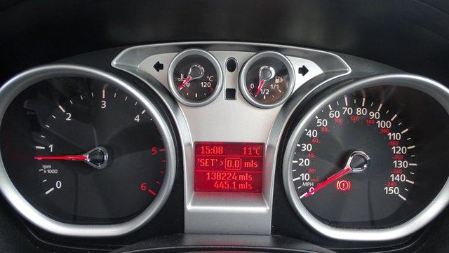 USED 2009 09 FORD FOCUS 1.6 ZETEC TDCI 5d 107 BHP LONG MOT