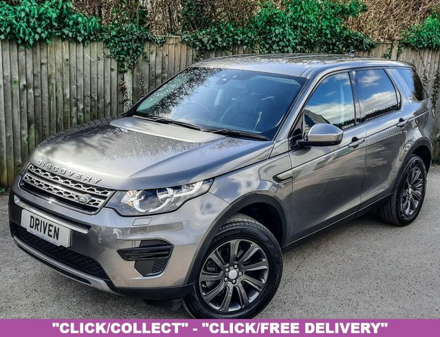 2015 65 LAND ROVER DISCOVERY SPORT 2.0 TD4 SE 5d 180 BHP