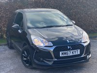 USED 2018 67 DS DS 3 1.2 PURETECH CONNECTED CHIC 3d 80 BHP * 1 OWNER * BUILT IN BLUETOOTH HANDSFREE * TOUCH SCREEN DIGITAL INTERFACE *