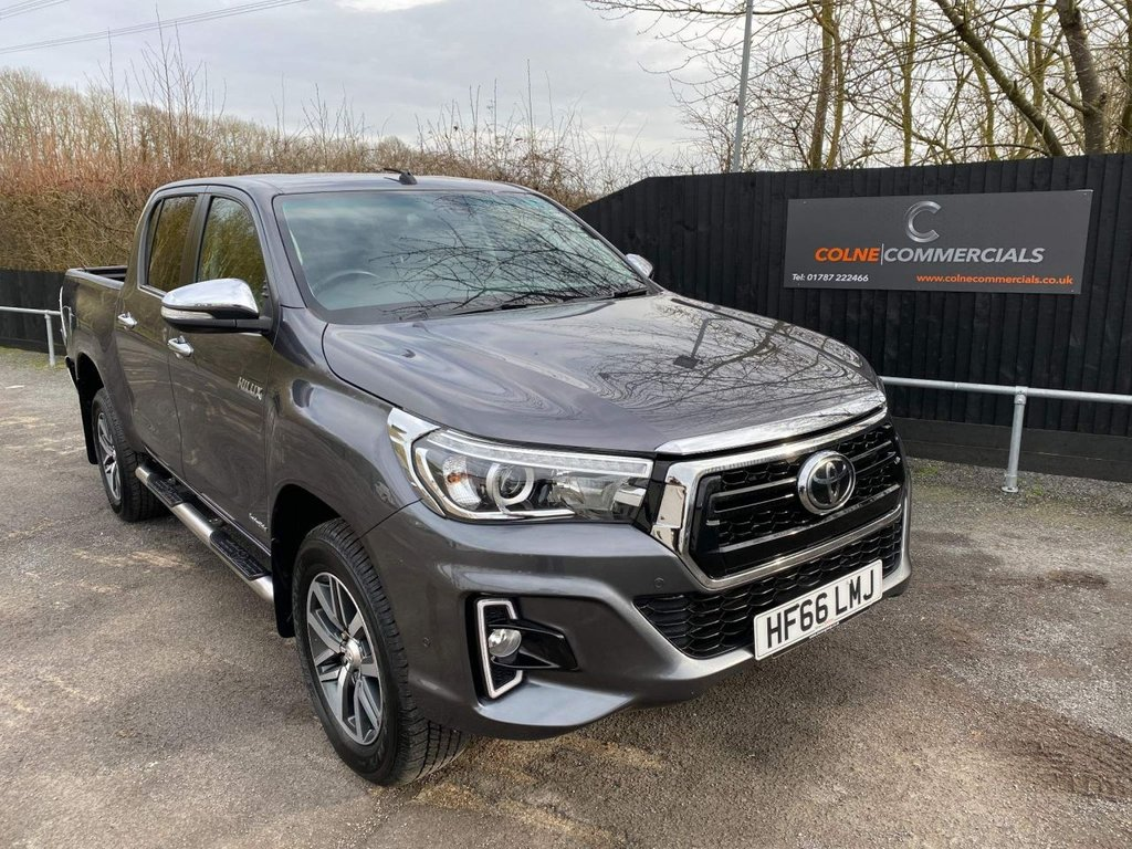 USED 2016 66 TOYOTA HI-LUX 2.4 D-4D Invincible X Double Cab Pickup Auto 4WD EU6 4dr (TSS) **NO VAT**IMMACULATE**NO VAT**