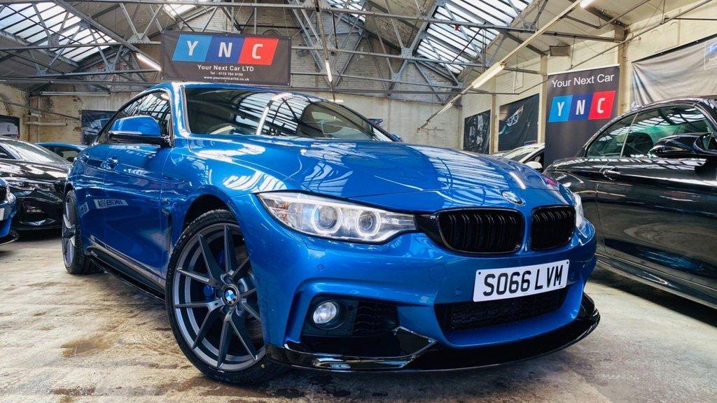 USED 2016 66 BMW 4 SERIES 3.0 435d M Sport Gran Coupe Sport Auto xDrive (s/s) 5dr PERFORMANCEKIT+20S+PLUSPACK