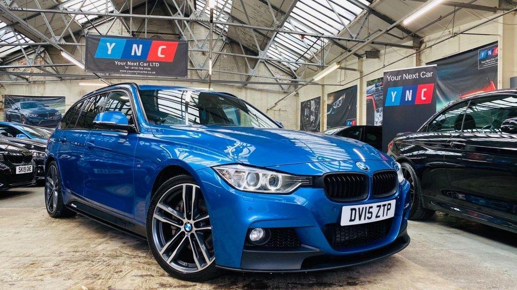 USED 2015 15 BMW 3 SERIES 3.0 335d M Sport Touring Sport Auto xDrive (s/s) 5dr PERFORMANCEKIT+19S+HEATEDLTHR