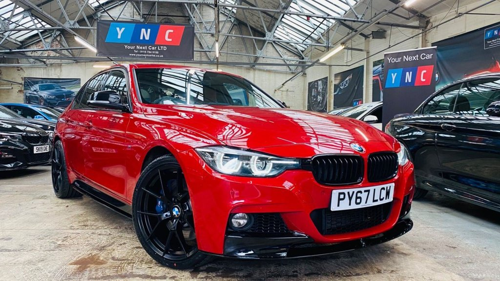 USED 2018 67 BMW 3 SERIES 3.0 335d M Sport Shadow Edition Auto xDrive (s/s) 4dr PERFORMANCEKIT+SHADOWED+20S