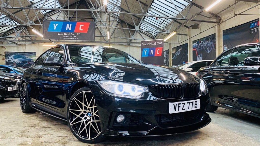 USED 2015 BMW 4 SERIES 3.0 435d M Sport Auto xDrive 2dr PERFORMANCEKIT+20S+COMFORTPACK