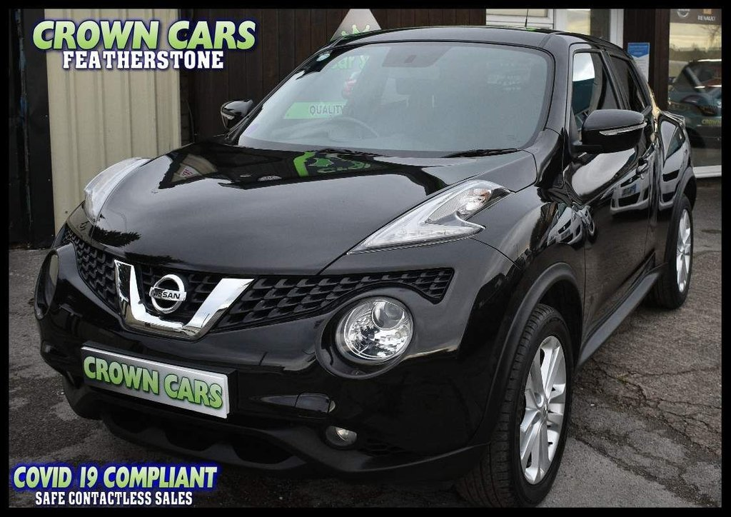 USED 2014 64 NISSAN JUKE 1.2 DIG-T Acenta Premium Manual 6Spd (s/s) 5dr FANTASTIC VALUE JUKE