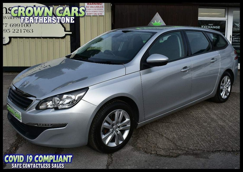 USED 2015 65 PEUGEOT 308 1.6 BlueHDi Active (s/s) 5dr FANTASTIC VALUE DIESEL ESTATE