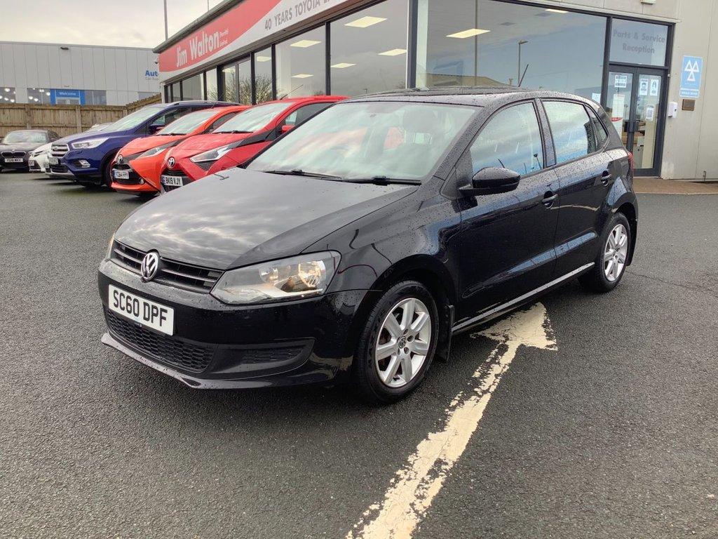 USED 2011 60 VOLKSWAGEN POLO 1.4 SE 5d 85 BHP
