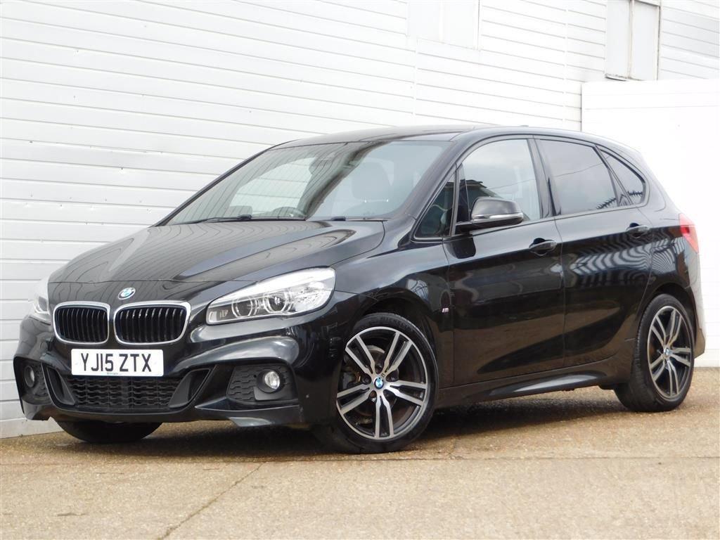 USED 2015 15 BMW 2 SERIES 2.0 218D M SPORT ACTIVE TOURER 5d 148 BHP Buy Online Moneyback Guarantee