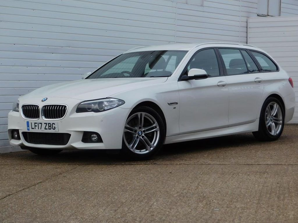USED 2017 17 BMW 5 SERIES 2.0 520D M SPORT TOURING 5d 188 BHP Buy Online Moneyback Guarantee