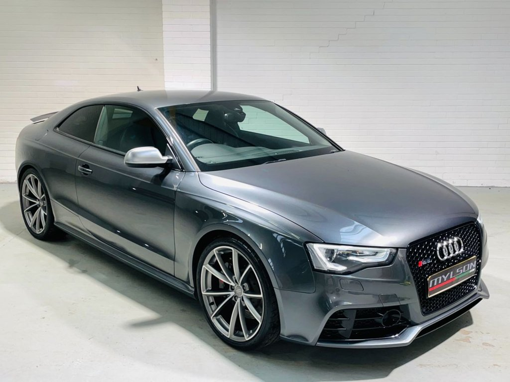 USED 2015 15 AUDI A5 4.2 RS5 FSI QUATTRO 2d 444 BHP DUE IN.. High Spec Daytona Grey RS5, Full Service History, Stunning