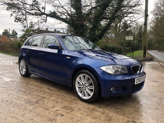 2007 07 BMW 1 SERIES 2.0 118D M SPORT 5d 141 BHP