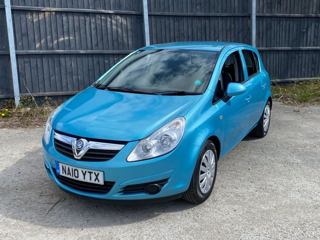 USED 2010 10 VAUXHALL CORSA 1.4 EXCLUSIV 5d 98 BHP 1 OWNER- VERY LOW MILES. AUTO. DELIVERY POSSIBLE PX WELCOME