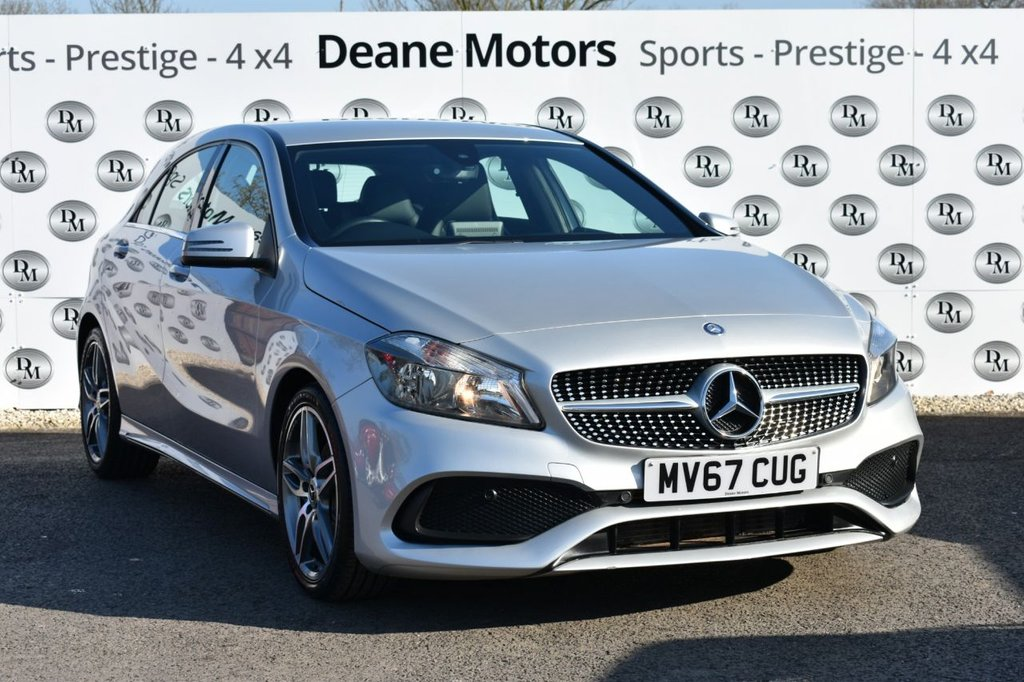 USED 2017 67 MERCEDES-BENZ A-CLASS 1.5 A 180 D AMG LINE 5d 107 BHP  GREAT VALUE