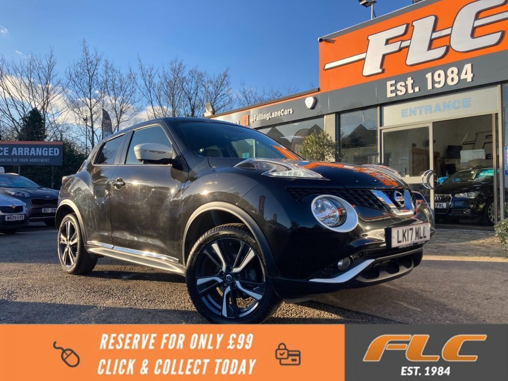 USED 2017 17 NISSAN JUKE 1.2 N-CONNECTA DIG-T 5d 115 BHP