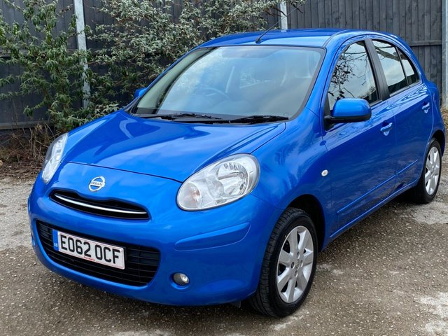 USED 2012 62 NISSAN MICRA 1.2 ACENTA 5d 79 BHP AUTOMATIC VERY LOW MILEAGE FINANCE ME TODAY-UK DELIVERY POSSIBLE