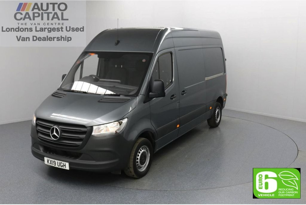 USED 2019 19 MERCEDES-BENZ SPRINTER 2.1 314 CDI 141 BHP L2 H2 MWB Euro 6 Low Emission Finance Available Online | Keyless Go | UK Delivery