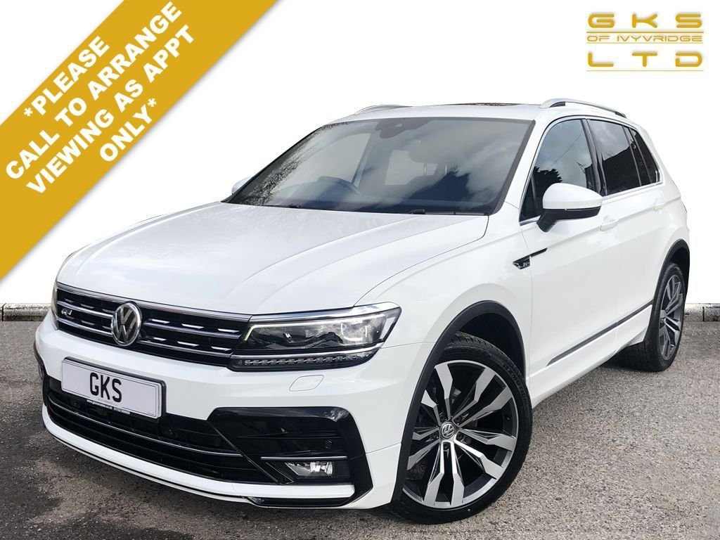 USED 2017 67 VOLKSWAGEN TIGUAN 2.0 R LINE TDI BMT 4MOTION DSG 5d 148 BHP ** NATIONWIDE DELIVERY AVAILABLE **