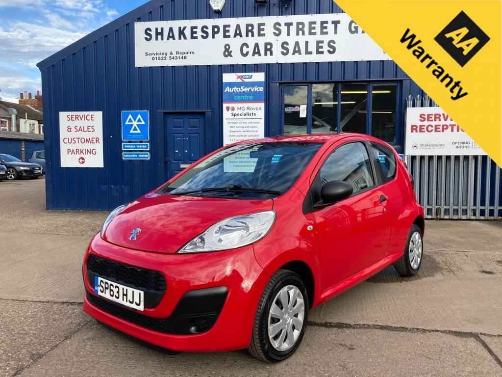 USED 2013 63 PEUGEOT 107 1.0 ACCESS 3d 68 BHP