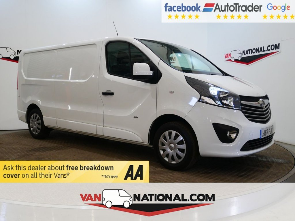 USED 2018 67 VAUXHALL VIVARO 1.6 L2 H1 2900 SPORTIVE CDTI 120 BHP * EURO 6 * LWB * AIR CON * CRUISE * ZERO DEPOSIT FINANCE AVAILABLE *
