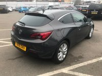 USED 2015 15 VAUXHALL ASTRA GTC 1.4 SRI S/S 3d 118 BHP ONE FORMER KEEPER !!