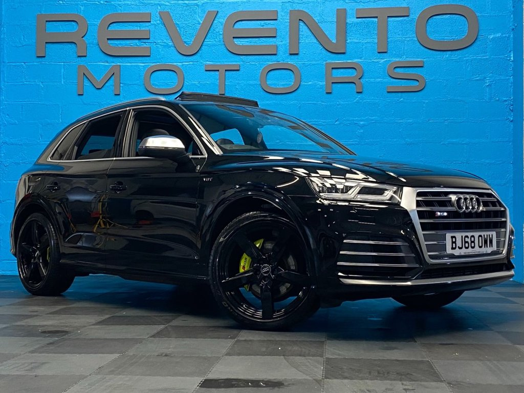 USED 2018 68 AUDI SQ5 3.0 SQ5 TFSI QUATTRO 5d 349 BHP HUGE SPEC - APR TUNING - PANORAMIC ROOF - INDIVIDUAL PAINTED BRAKE CALLIPERS