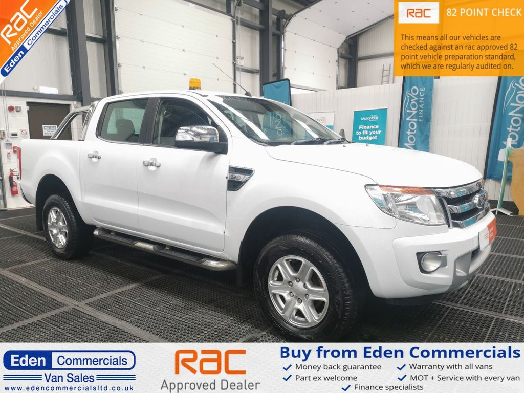 USED 2015 65 FORD RANGER 2.2 LIMITED 4X4 DCB TDCI 148 BHP