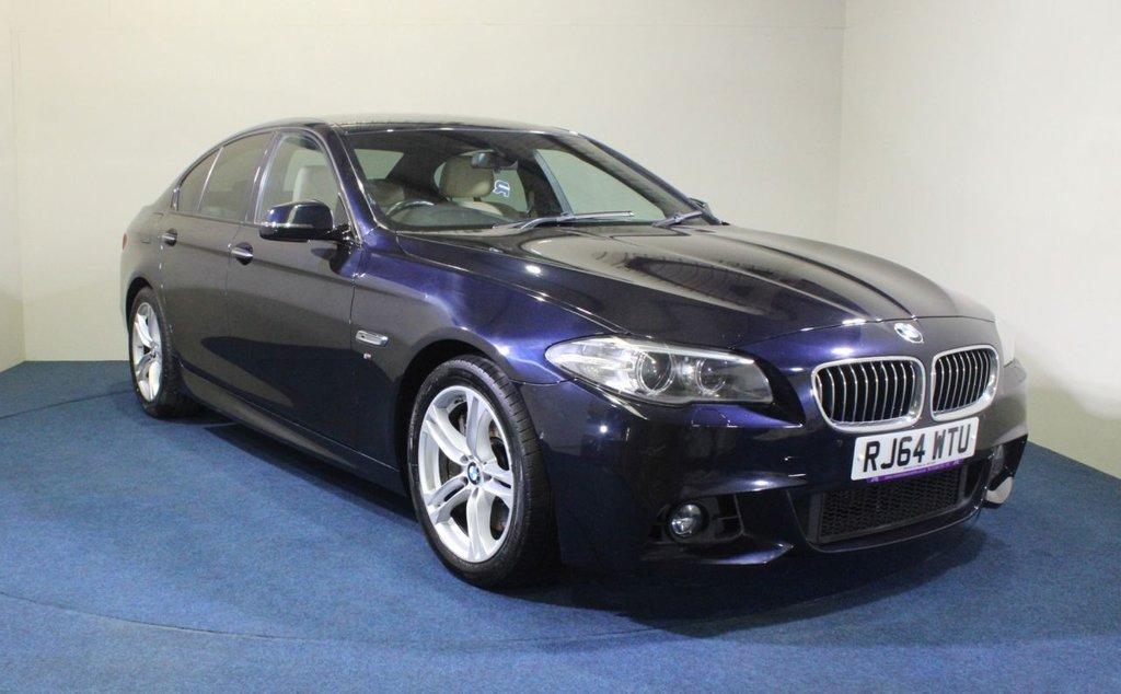 USED 2015 64 BMW 5 SERIES 3.0 530D M SPORT 4d 255 BHP