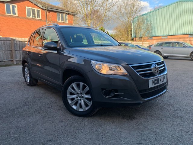 USED 2011 11 VOLKSWAGEN TIGUAN 2.0 MATCH TDI 4MOTION 5d 138 BHP FRONT AND REAR PARK AID, BLUETOOTH, PRIVACY