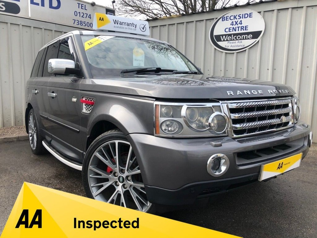 USED 2005 55 LAND ROVER RANGE ROVER SPORT 2.7 TDV6 HSE 5d 188 BHP AA INSPECTED. FINANCE. WARRANTY. MANY EXTRAS. CHEAPER TAX