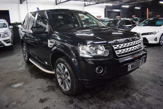 USED 2013 13 LAND ROVER FREELANDER 2 2.2 SD4 HSE LUXURY 5d 190 BHP AUTO  TOP LUXURY HSE SPEC - TWO PREVIOUS KEEPERS - 5 LANDROVER SERVICES TO 51K - LEATHER - NAV - HEATED SEATS - SUNROOFS - PRIVACY GLASS