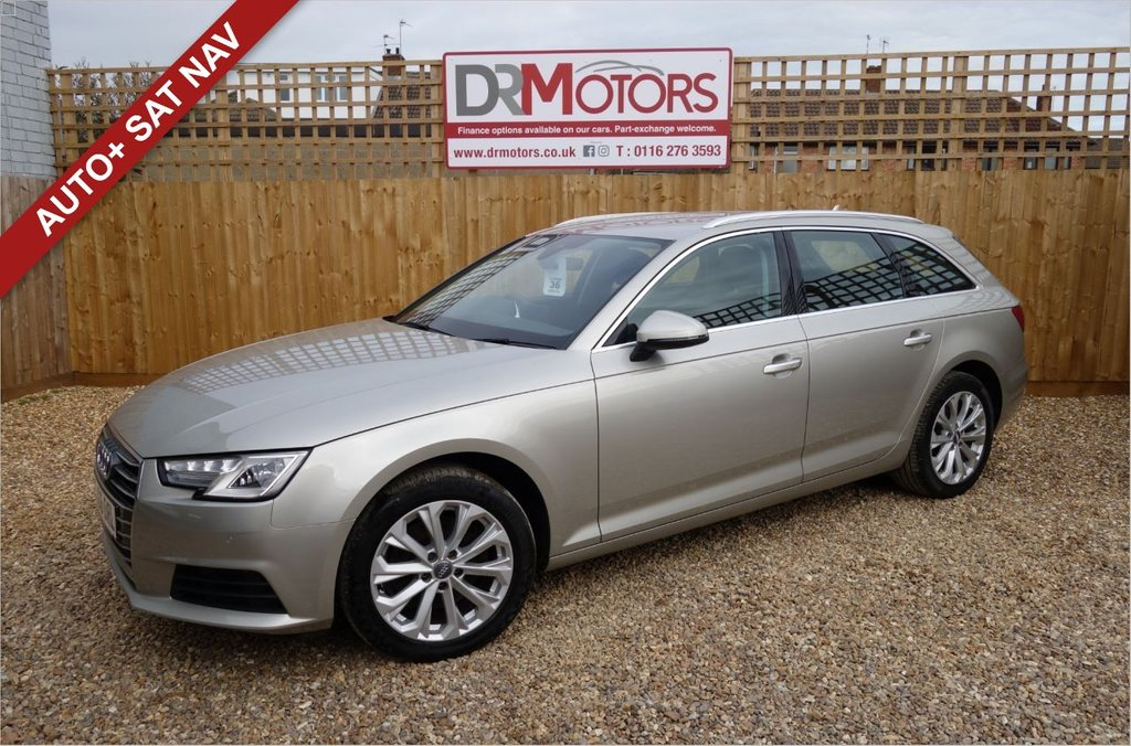 USED 2016 66 AUDI A4 2.0 AVANT TFSI SE 5d 188 BHP *** 6 MONTHS NATIONWIDE GOLD WARRANTY ***