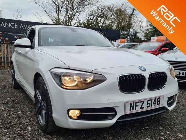 USED 2013 BMW 1 SERIES 2.0 118D SPORT 5d 141 BHP