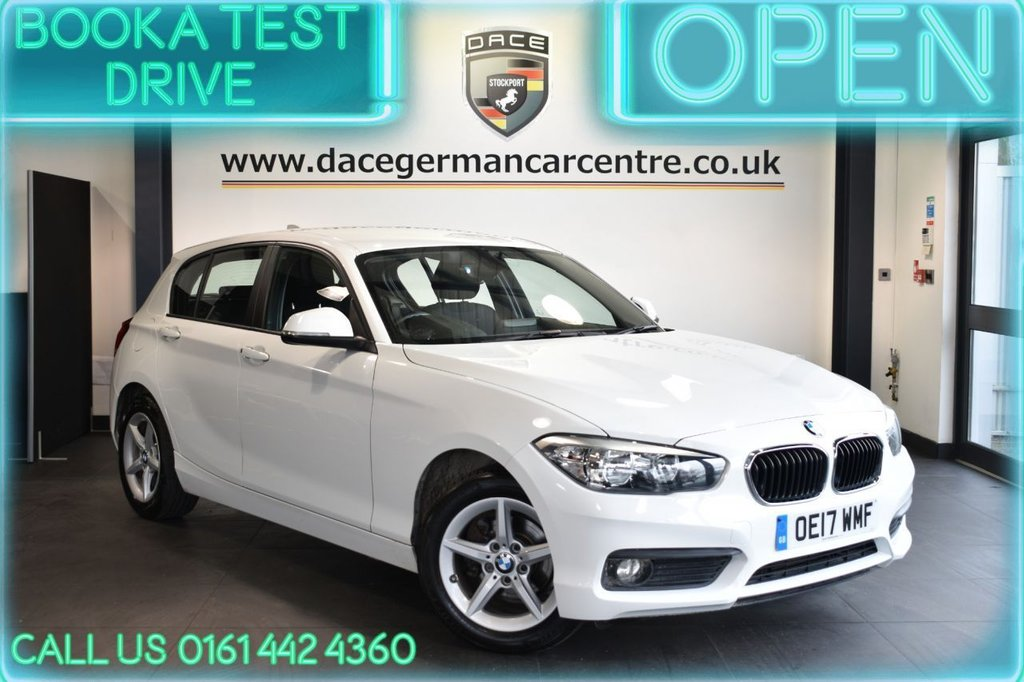USED 2017 17 BMW 1 SERIES 1.5 116D SE 5DR AUTO 114 BHP