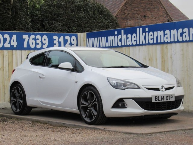 USED 2014 14 VAUXHALL ASTRA GTC 2.0 LIMITED EDITION CDTI S/S 3d 162 BHP STUNNING CAR
