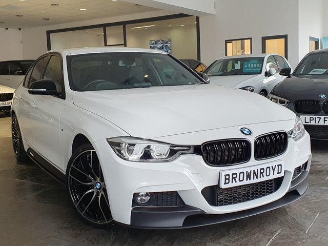 USED 2018 18 BMW 3 SERIES 2.0 320D M SPORT 4d 188 BHP BM PERFORMANCE STYLING+6.9%APR