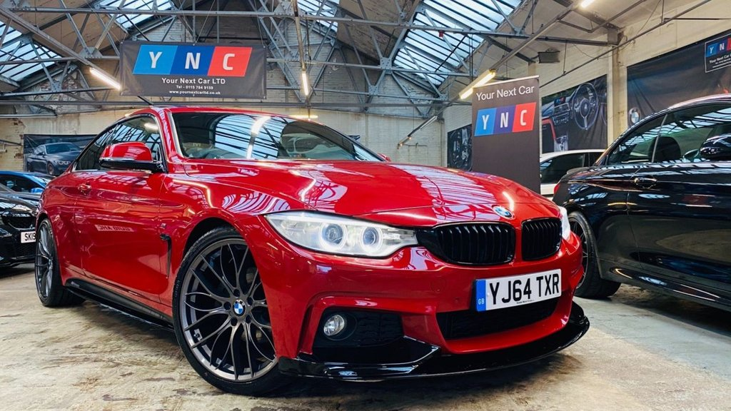 USED 2014 64 BMW 4 SERIES 2.0 420d M Sport 2dr PERFORMANCEKIT+20S+SUNROOF!