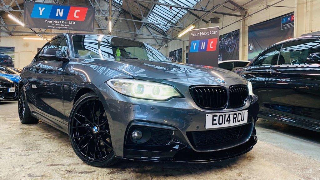 USED 2014 14 BMW 2 SERIES 2.0 225d M Sport Auto (s/s) 2dr PERFORMANCEKIT+HK+19S!!