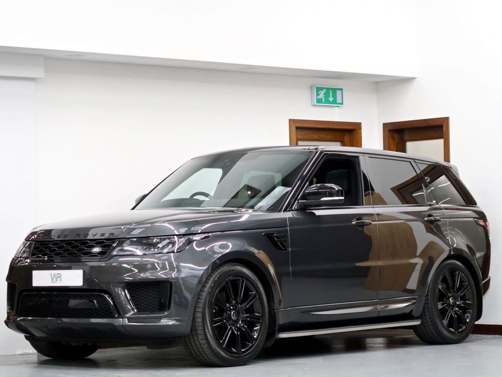 USED 2018 68 LAND ROVER RANGE ROVER SPORT 3.0 SD V6 HSE Dynamic Auto 4WD (s/s) 5dr PAN ROOF + REV CAM + MERIDIAN