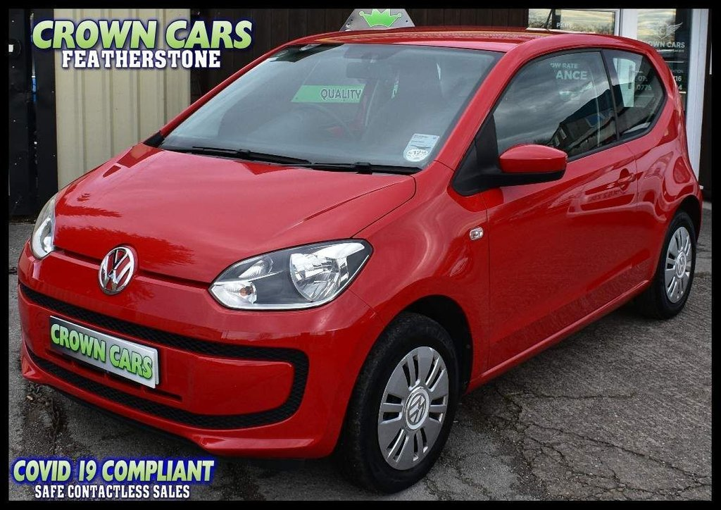 USED 2014 63 VOLKSWAGEN UP 1.0 Move up! 3dr BEAUTIFUL ONE OWNER EXAMPLE