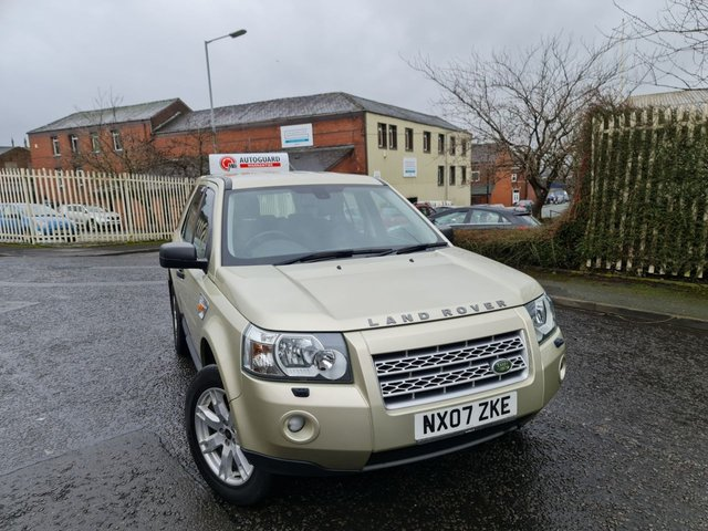 USED 2007 07 LAND ROVER FREELANDER 2.2 TD4 GS 5d 159 BHP A GREAT 4X4