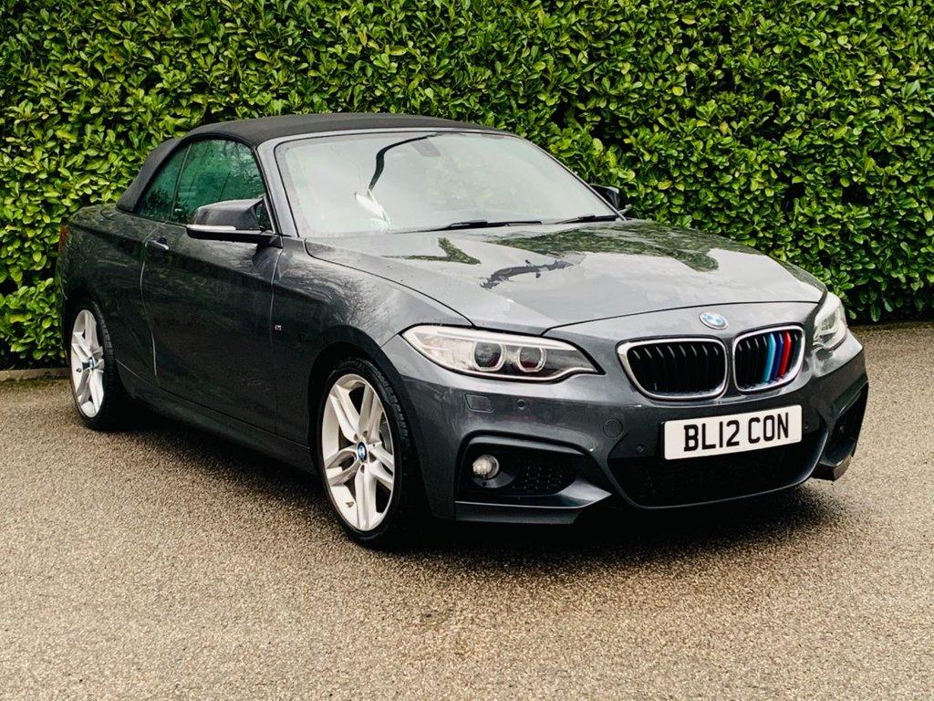 USED 2016 12 BMW 2 SERIES 2.0 220D M SPORT 2d 188 BHP