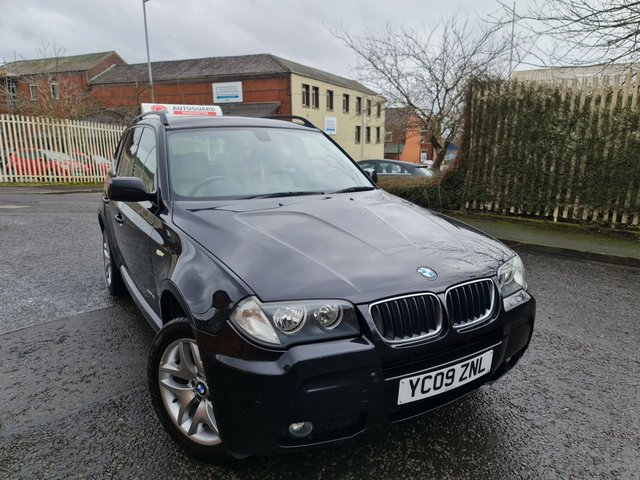 USED 2009 09 BMW X3 2.0 XDRIVE18D M SPORT 5d 141 BHP A GREAT FAMILY MPV