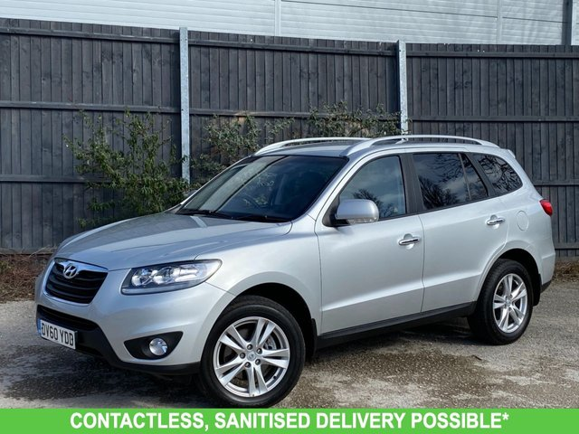 USED 2010 60 HYUNDAI SANTA FE 2.2 PREMIUM CRDI 5d 194 BHP 1 OWNER* MANY EXTRAS AUTOMATIC VERY LOW MILEAGE FINANCE ME TODAY-UK DELIVERY POSSIBLE