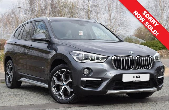 2017 66 BMW X1 2.0 XDRIVE18D XLINE 5d 148 BHP