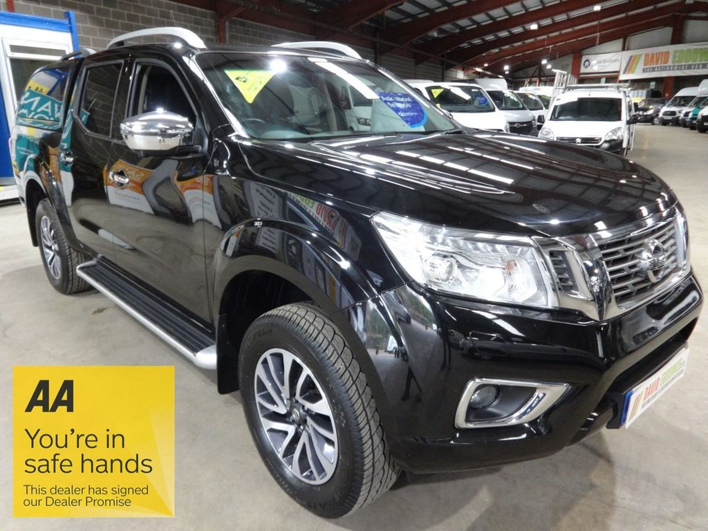 USED 2016 66 NISSAN NAVARA 2.3 DCI TEKNA 4X4 SHR DCB 190 BHP DOUBLE CAB PICK UP - AA DEALER PROMISE - TRADING STANDARDS APPROVED -