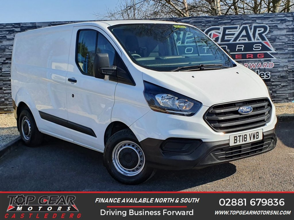 USED 2018 18 FORD TRANSIT CUSTOM 300 2.0 105BHP L1 H1 **BLUETOOTH, PLY LINED, FINANCE AVAILABLE** OVER 90 VANS IN STOCK