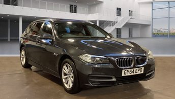 2014 BMW 5 SERIES 2.0 520D SE TOURING 5d 188 BHP £10995.00