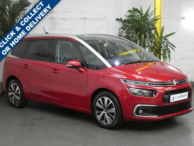 2018 18 CITROEN C4 GRAND PICASSO 1.6 BLUEHDI FLAIR S/S EAT6 5d 118 BHP